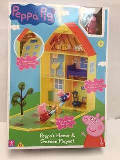 Peppa pig 玩具屋