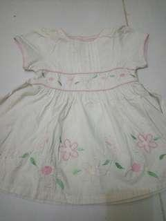 Dress size 1-2 tahun