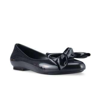Melissa Black Flats Shoes