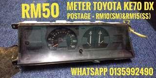 meter toyota ke70 GL