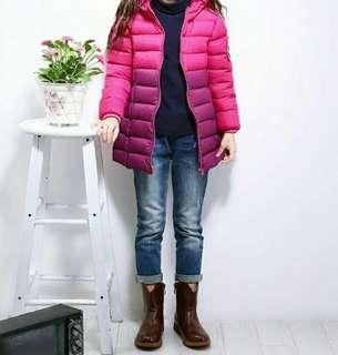 Beautiful Ombre Down Jacket!