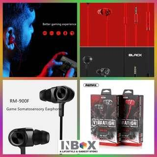 🚚 Remax RM-900F Game Earphone With Mic In Ear Gaming Headsets