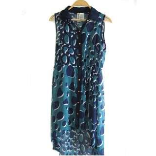 US Print Dress