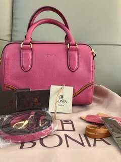 New Bonia Bag - Natural Leather