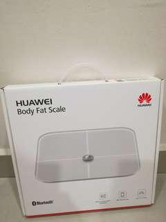 All new Huawei smart body fat scale