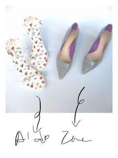 Branded heels 👠 Sale ! Zara and Aldo heels