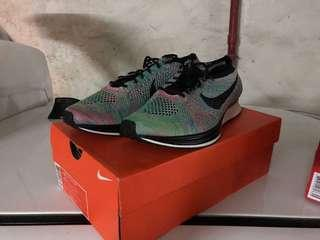 Nike flyknit racer with box 100% new