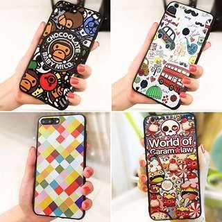 🆕iPhone Case iphone7 iphone7/8 plus iphone X 3D浮雕 手機殼 電話殼