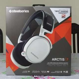 SteelSeries: Arctis 7 2018 Wireless Gaming headphone (white)