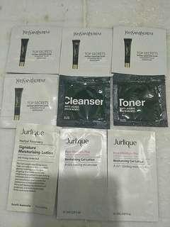 🌟YSL Top Secret, DrGL cleanser & toner,  Jurlique lotion🌟all for $8