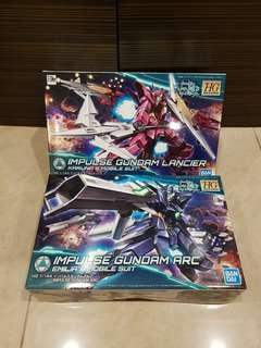 <New release> HGBD Impulse Gundam Glacier/Arc