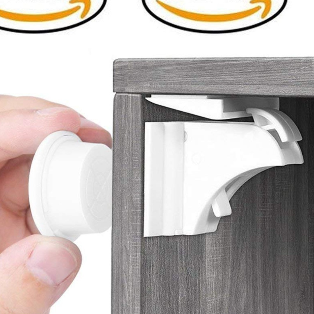 576 Baby Proofing Magnetic Cabinet Lock Set Balfer Child Safety
