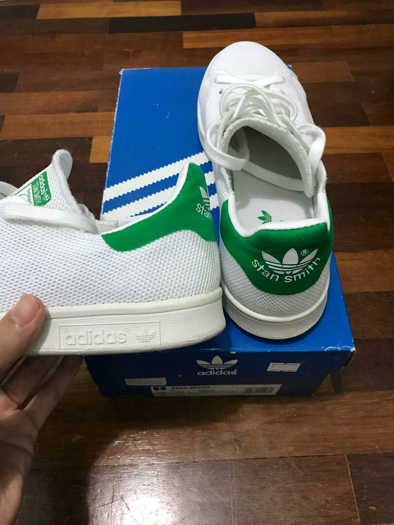 check out bbe80 24b6b Adidas Stan Smith Flyknit