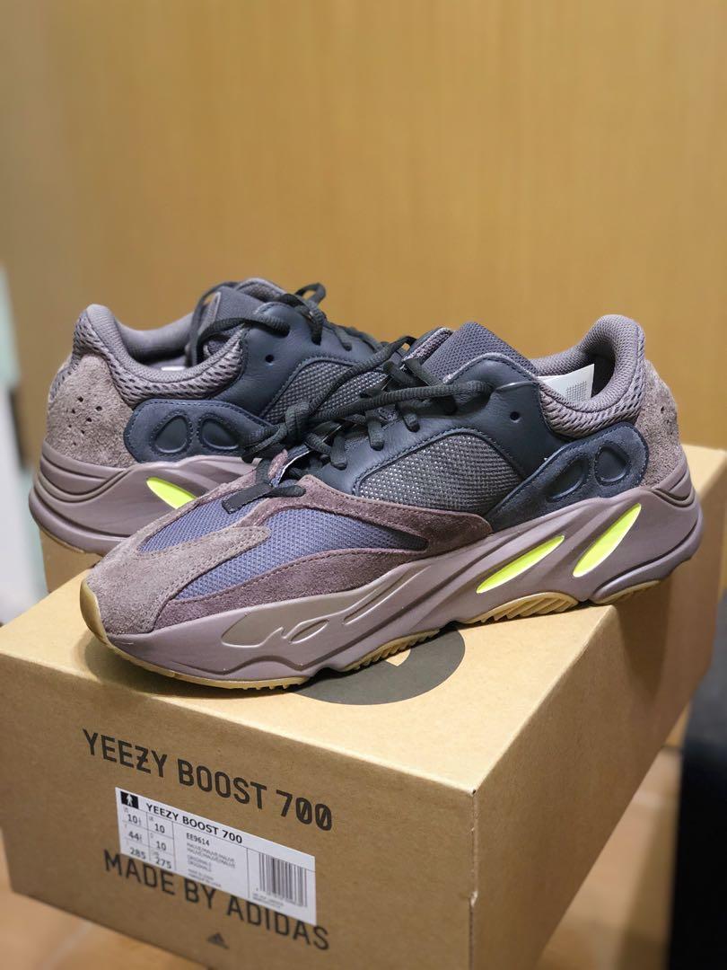 b5c9c800979 Adidas Yeezy Boost 700 MAUVE EE9614 US10.5 UK10