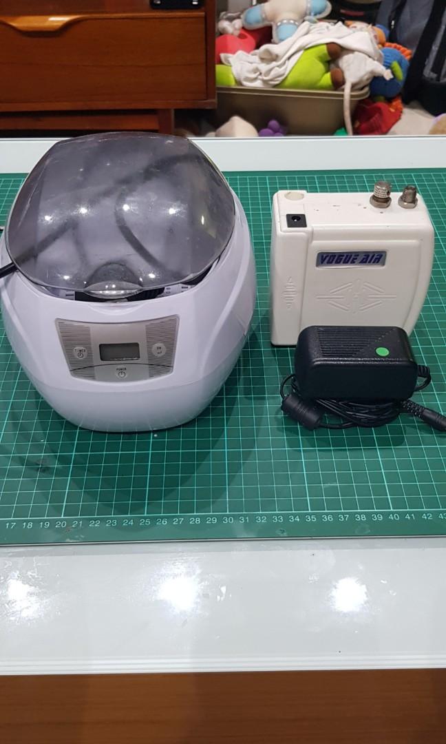 Airbrush compressor & ultrasonic, Design & Craft, Craft