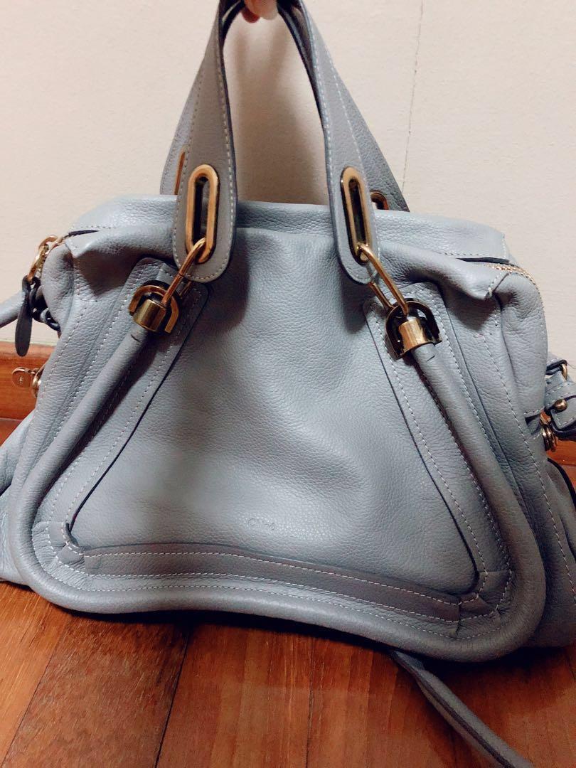 fb646e9afa69 Authentic Chloe Paraty Medium Shoulder Bag