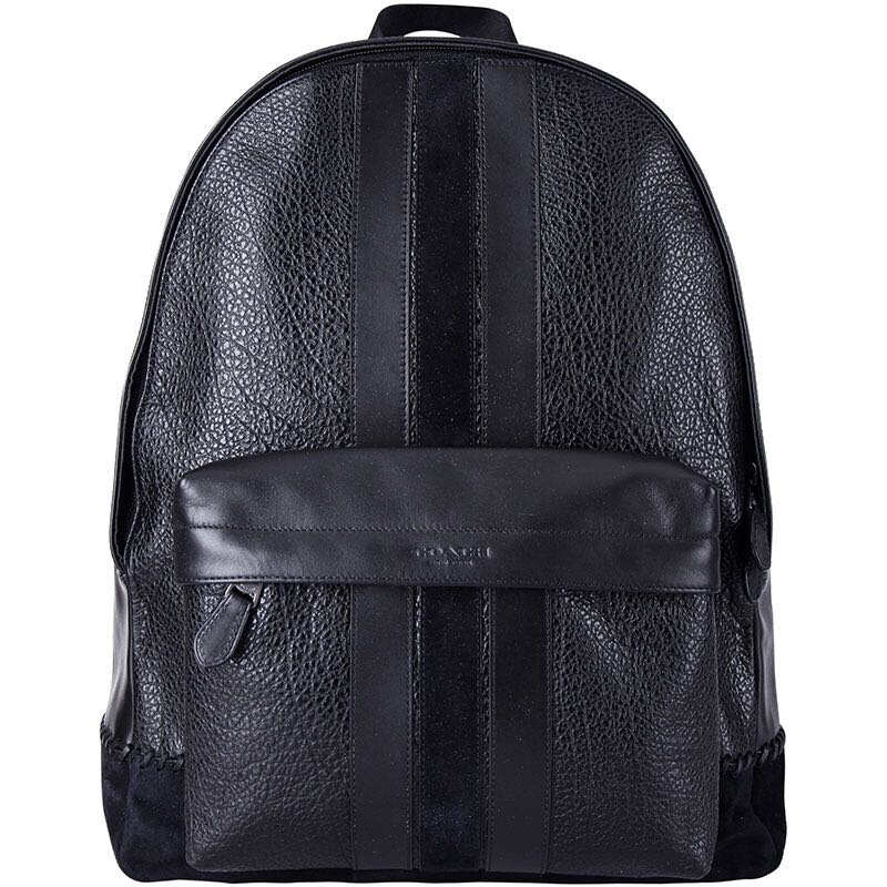 aeadbb709320 Authentic Coach F11250 Charles Backpack With Baseball Stitch