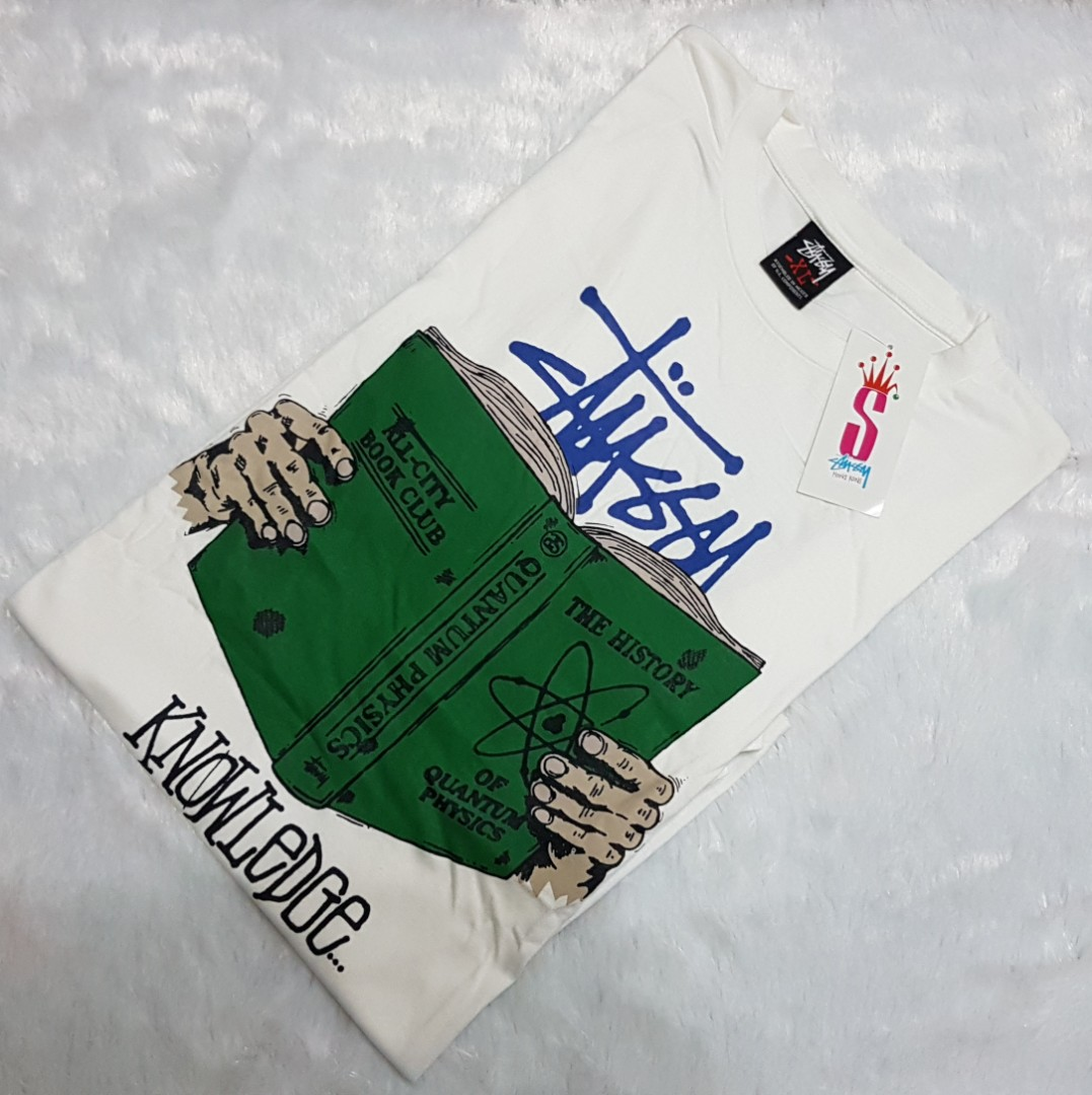 5490442d7720 Authentic Stussy x Knowledge Shirt