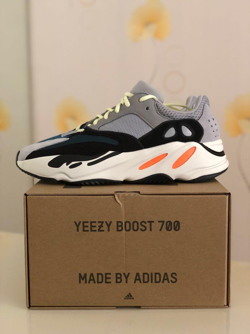 0a67f7af5f6 BNIB Adidas Yeezy Wave Runner 700 Solid Grey OG Us9