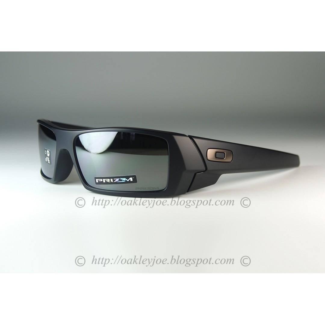 32adda4d27 BNIB Oakley Gascan matte black + prizm black OO9014-4360 sunglass ...