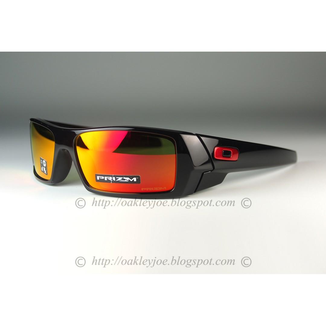 19d52d3d4d BNIB Oakley Gascan polished black + prizm ruby OO9014-4460 sunglass ...