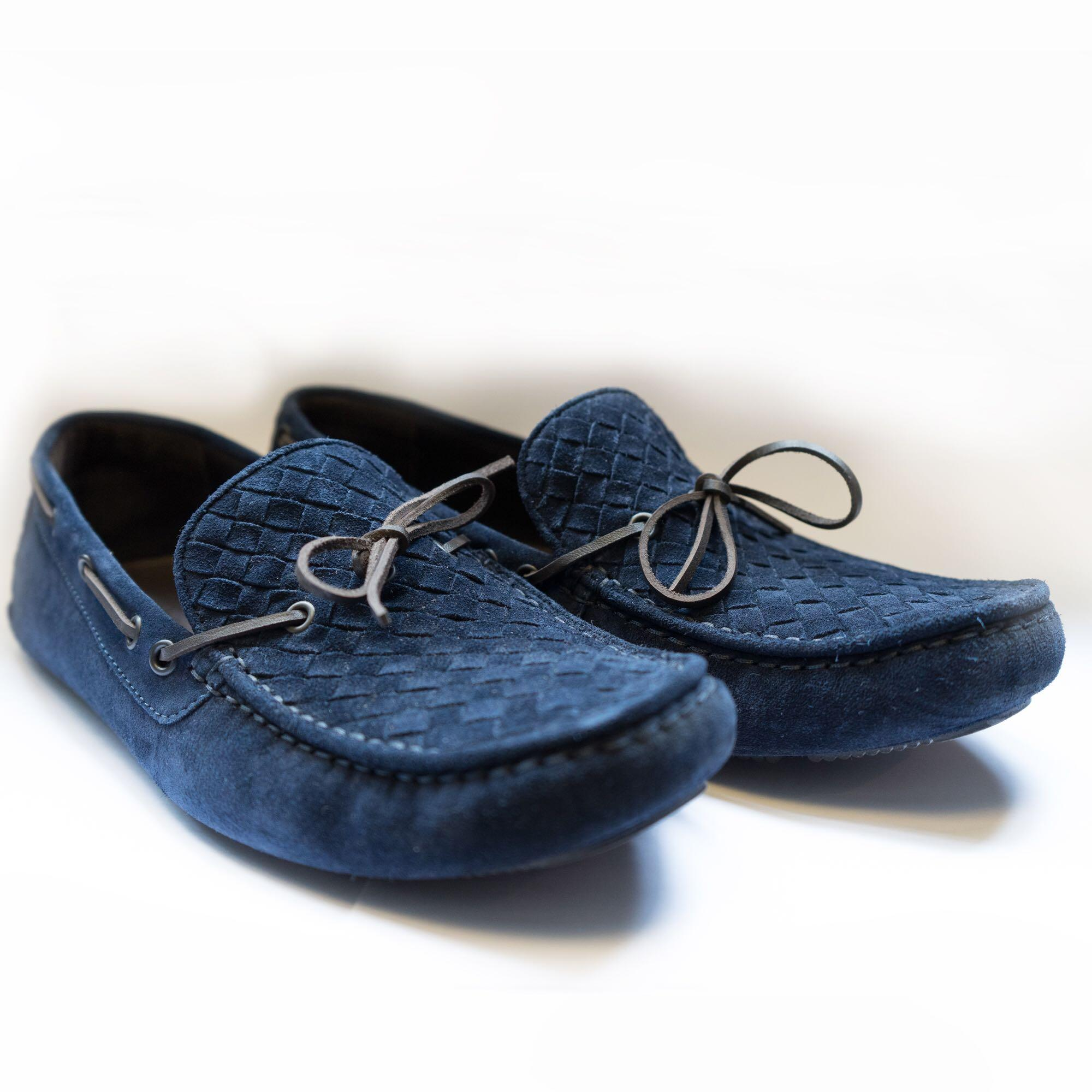 Bottega Veneta Suede Loafers, Luxury