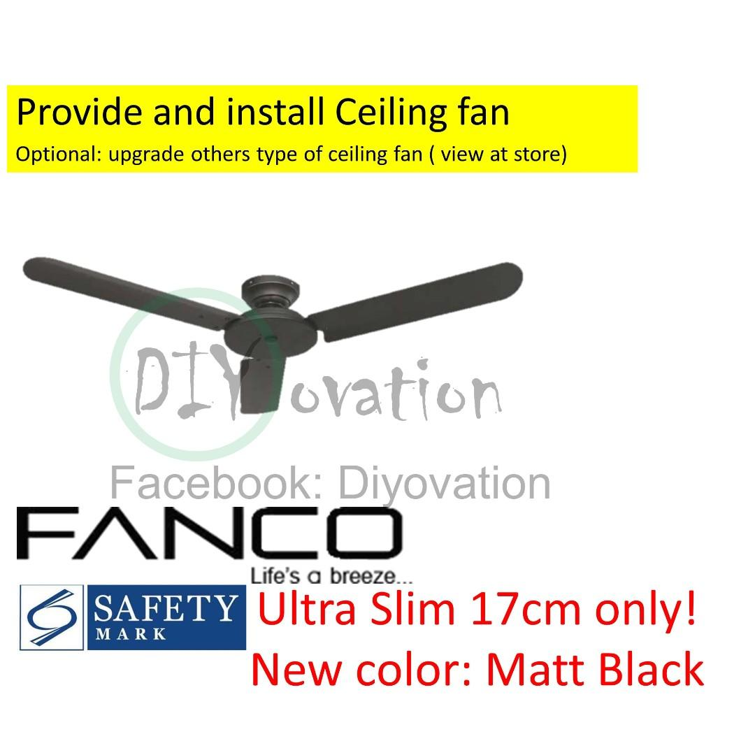 [BTO Package] Living room Ceiling fan and track light
