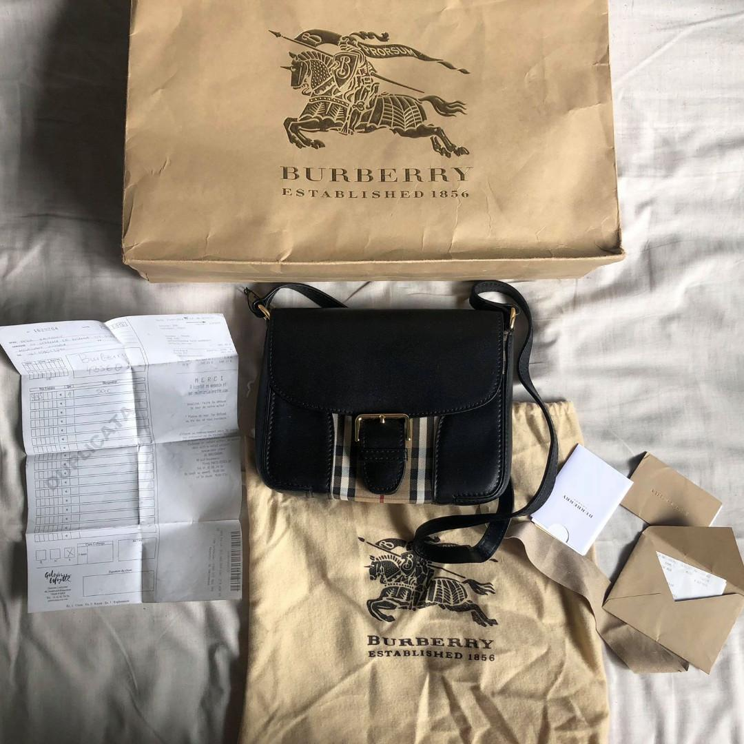 Burberry Dickens Clutch Crossbody Small Messenger Bag