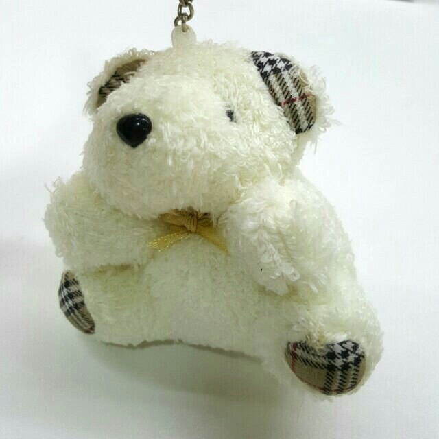 new arrive closer at top brands Burberry Style Teddy Bear Keychain