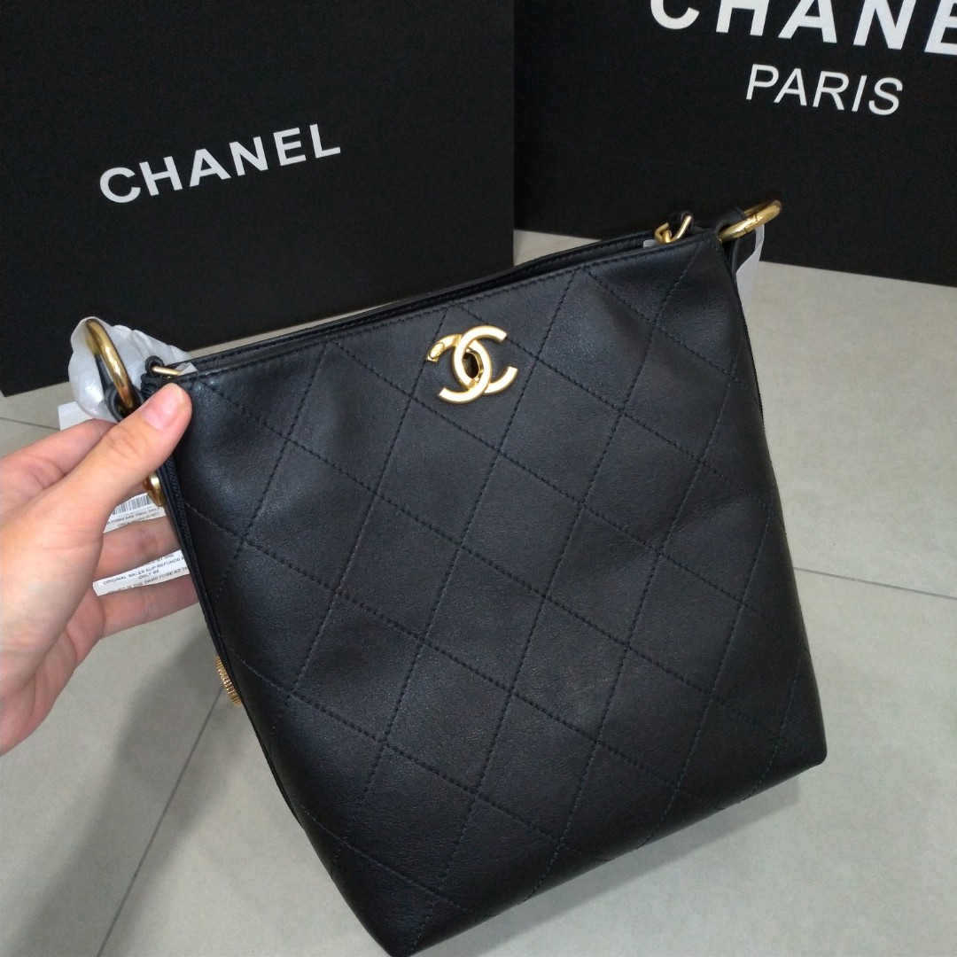 3096d5a5ccca Chanel Hobo Bag Small