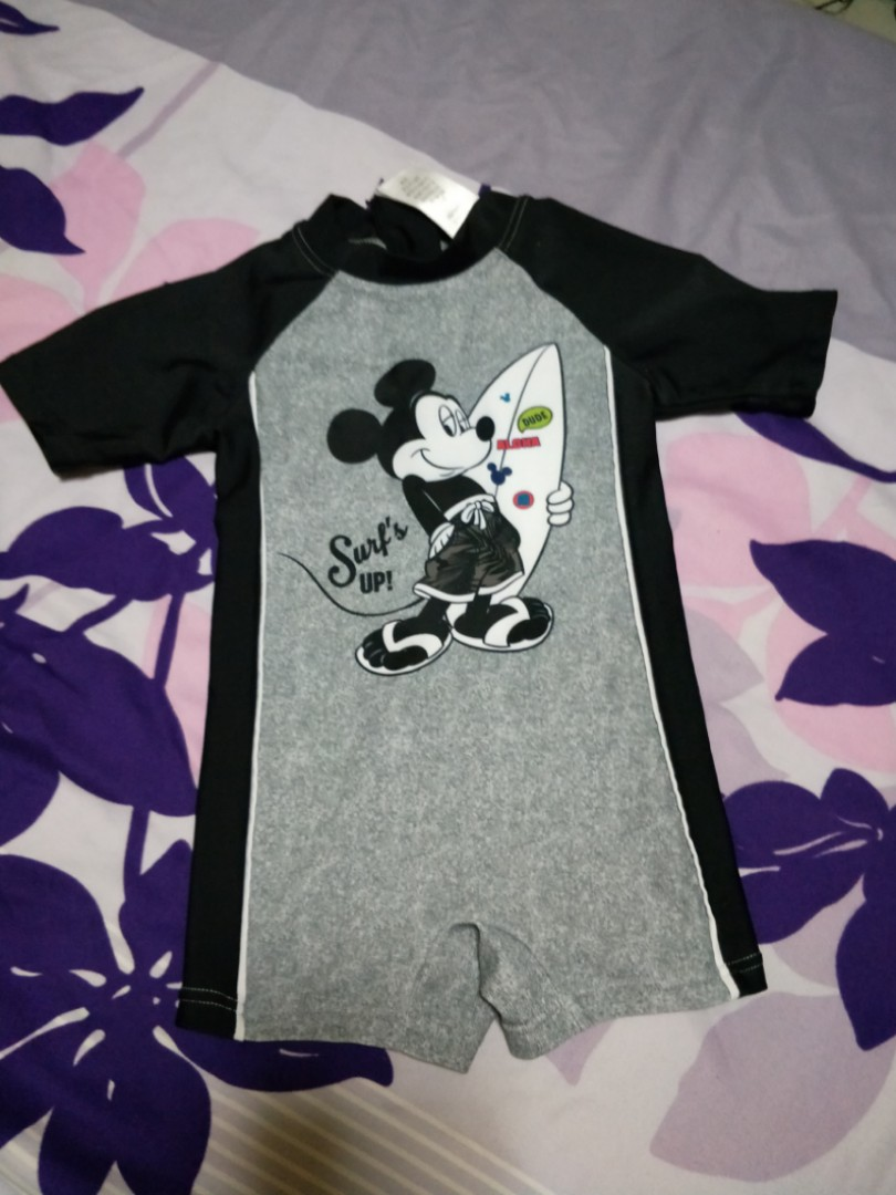 7e48915f75 Disney Baby Mickey Mouse swimwear fm FOX, Babies & Kids, Boys ...