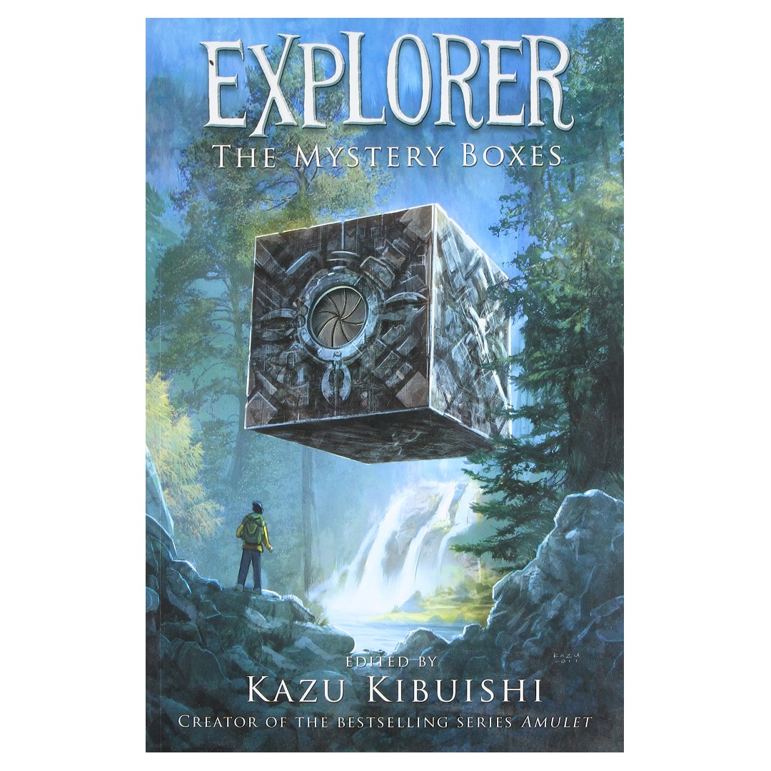 Explorer: The Mystery Boxes, Books & Stationery, Comics