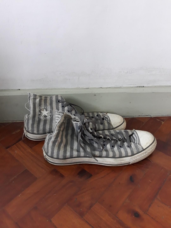 striped chuck taylors