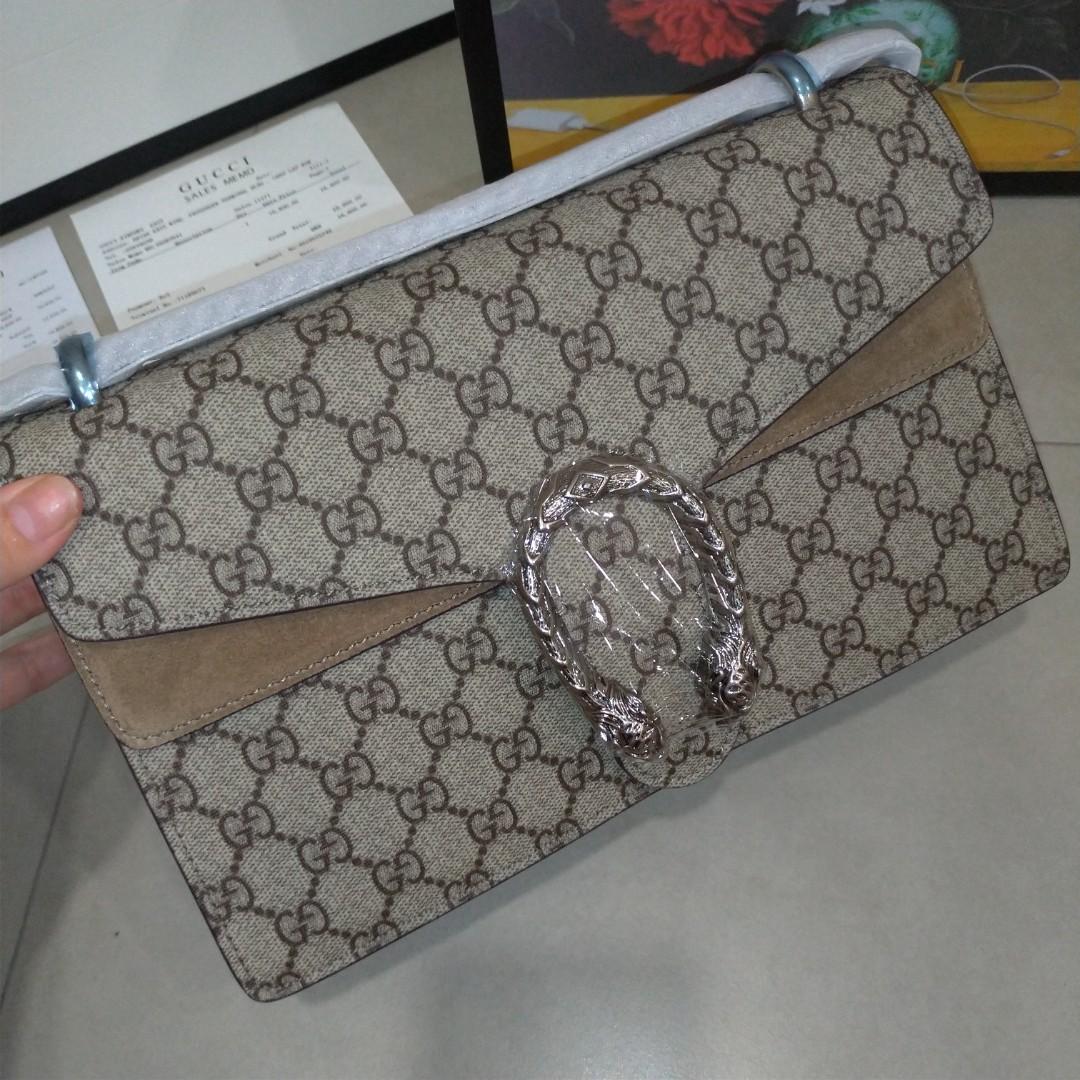 40e1a2c35620 Gucci Dionysus, Women's Fashion, Bags & Wallets, Handbags on Carousell