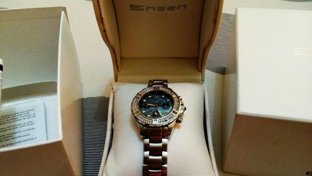 Jam Tangan CASIO Sheen SHN 5503D f6216d16e2