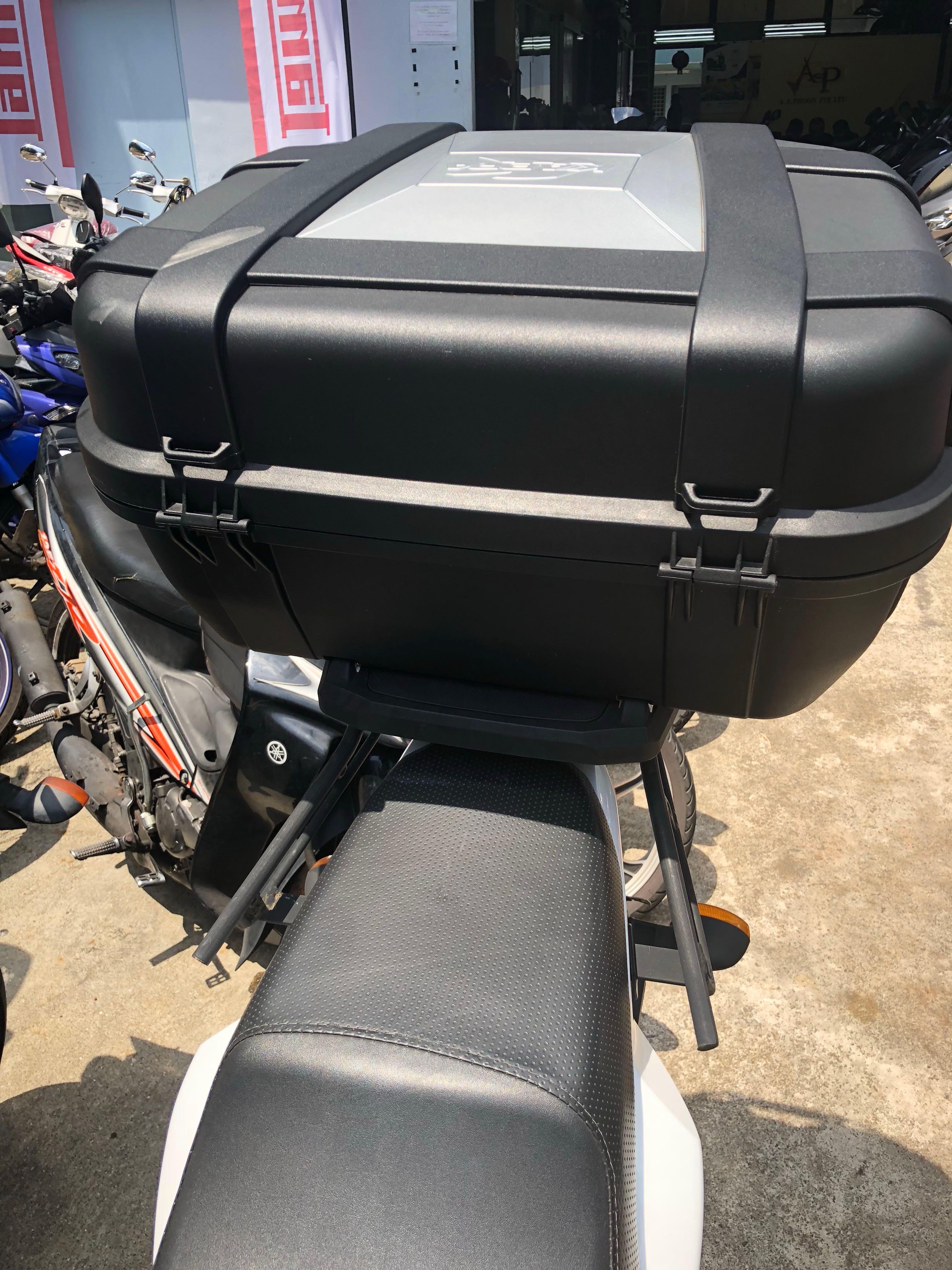 b44c47a158 Kappa KGR52 Garda, Motorbikes, Motorbike Accessories on Carousell