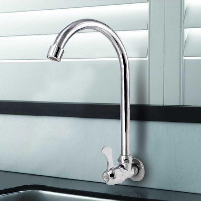 Kitchen Faucet Wall Mounted Sink Tap