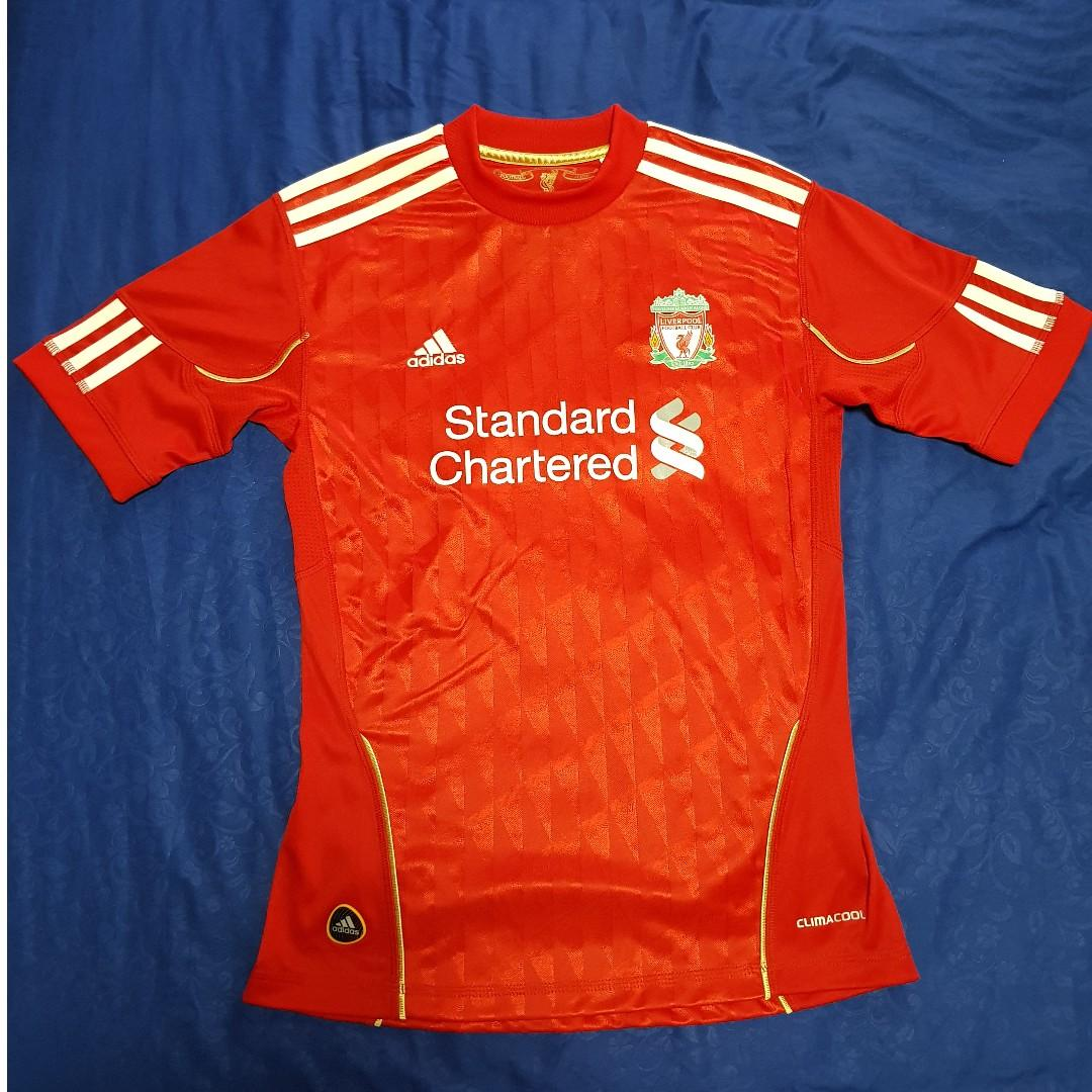 best sneakers d8705 cf244 Liverpool FC Adidas Home Jersey 2010/12 – Womens Ladies USA ...