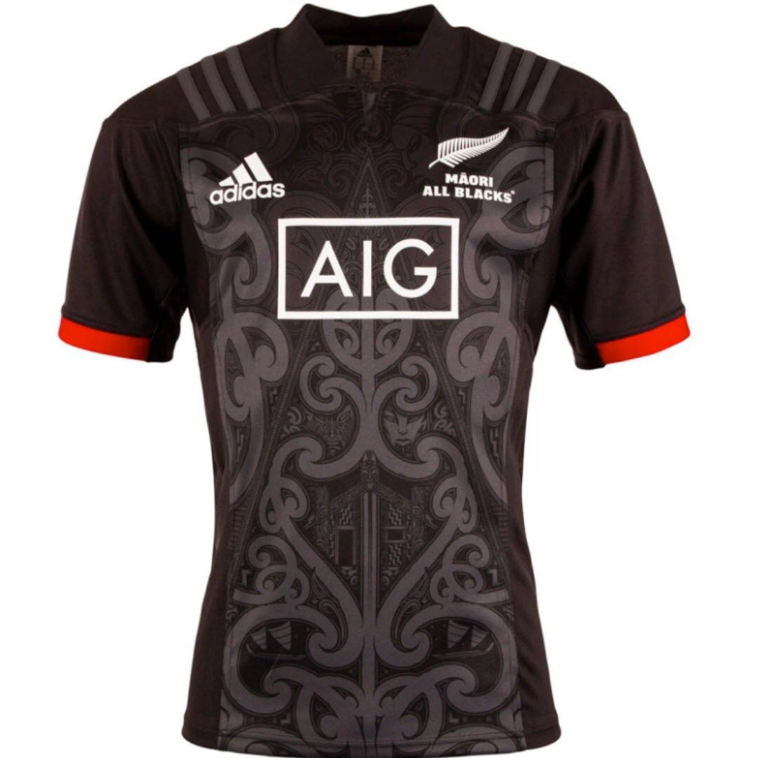 f9d9a50d4e6 Māori All Blacks 2018/19 Adidas Jersey, Sports, Sports Apparel on ...