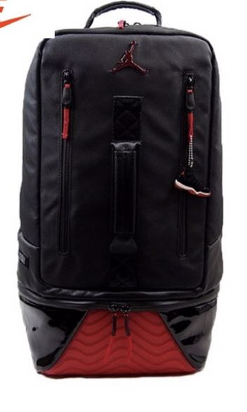 5227a4b3b1c Nike Air Jordan XI Bred backpack, Men's Fashion, Bags & Wallets ...