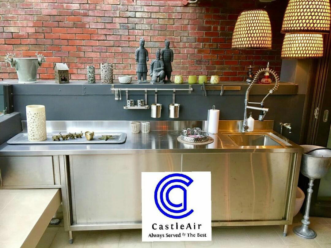 Outdoor Stainless Steel Kitchen Cabinets Furniture Others On Carousell