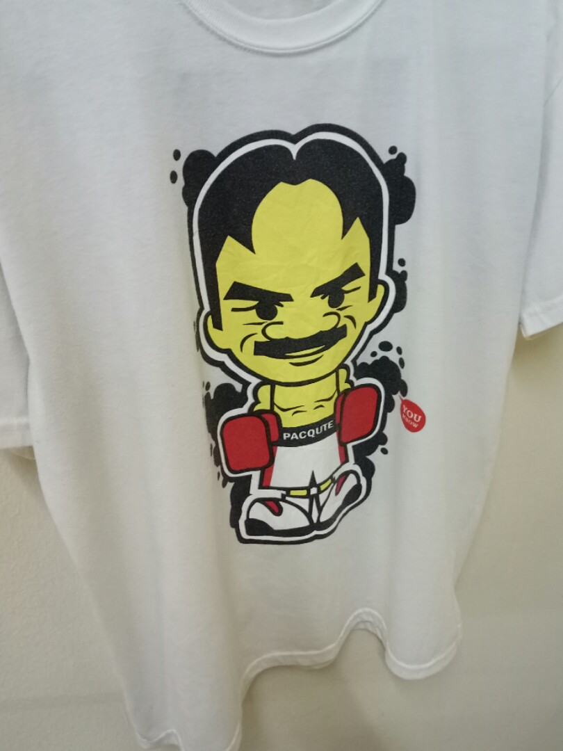 Pacquteparody Of Manny Pacquiaoboxer Tee Mens Fashion Clothes