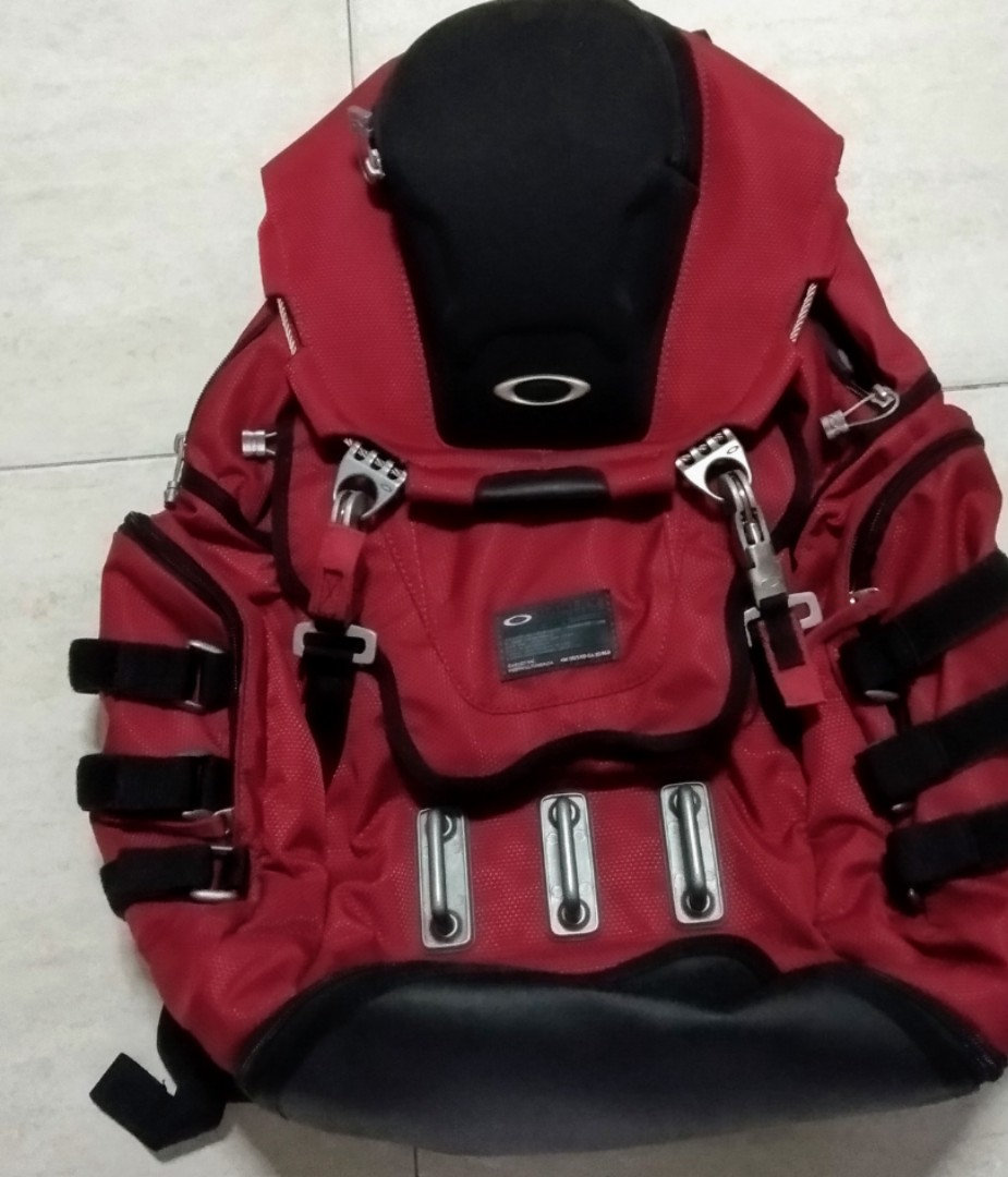 photo photo ... & Rare oakley kitchen sink red backpack laptop bag Menu0027s Fashion ...