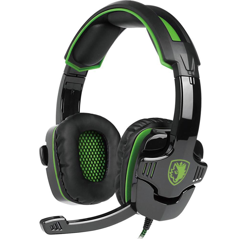 Sades SA-930 Noise Cancellation Gaming Headset with Microphone for PS4 Laptop Tablet PC and Mobile Phones