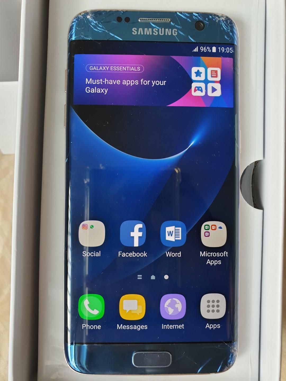 SAMSUNG GALAXY S7 EDGE (MODEL NO  SM-G935FD), Mobile Phones