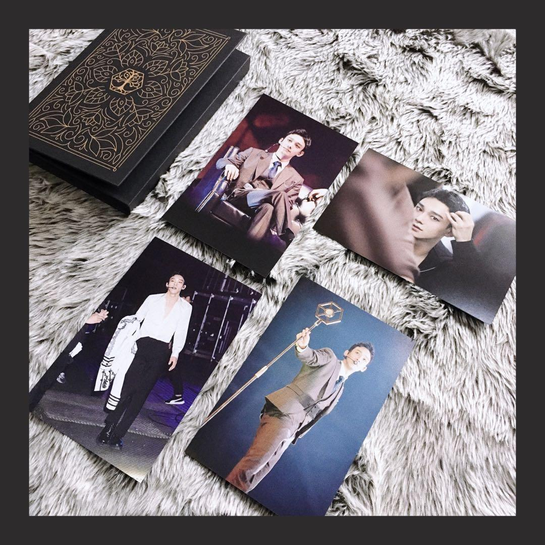 SHARING EXO POSTCARD THE ELYXION IN SEOUL DVD
