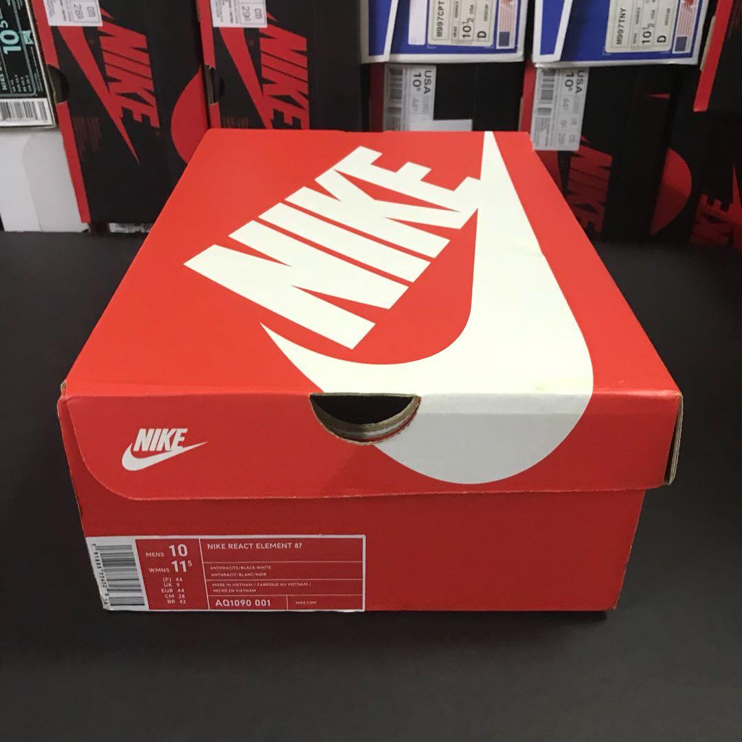 React Para Nike De Hombre 001 Black Element Aq1090 Zapatos Og m80ONnwyPv