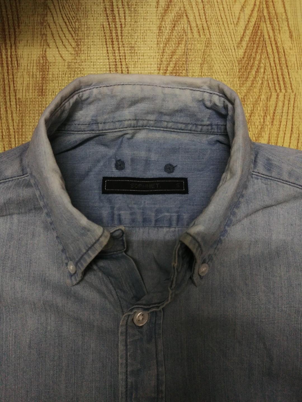 sophnet Scorpion Denim B.D Shirt damaged cdg s visvim fcrb