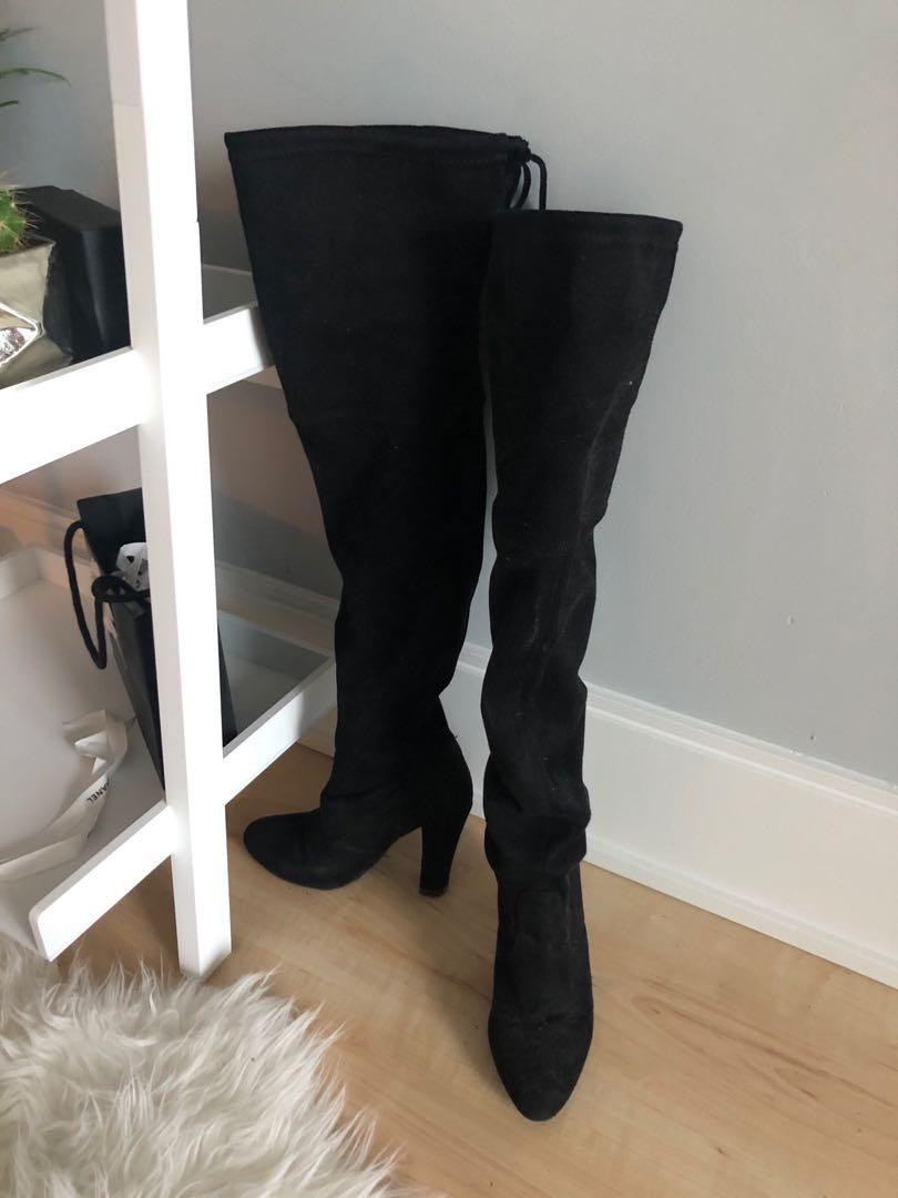 Steve Madden Gorgeous boots size 5.5 Stuart Weitzman dupe