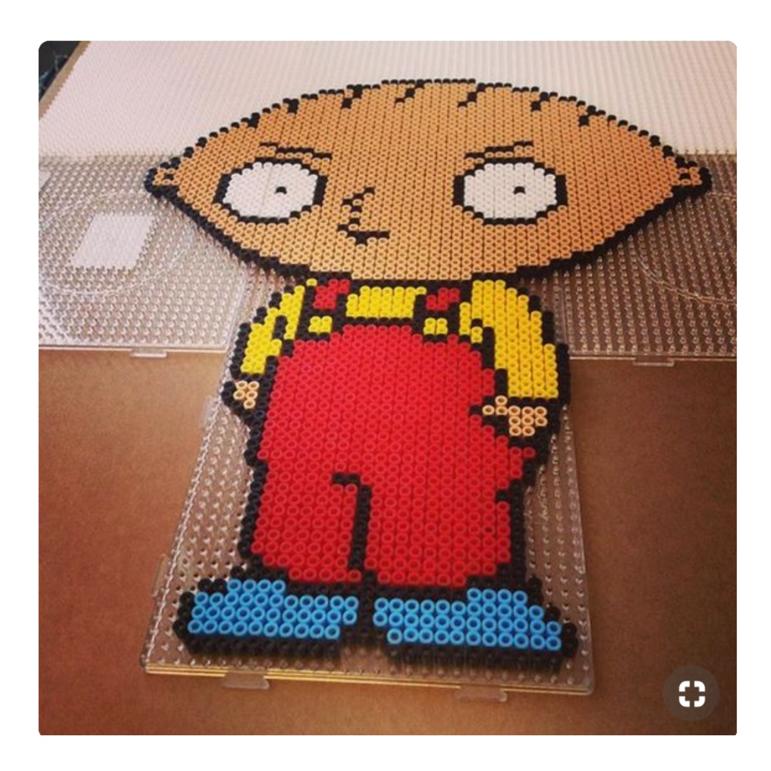 Stewie Family Guy Perler Pixel Art Design Craft Others On Carousell